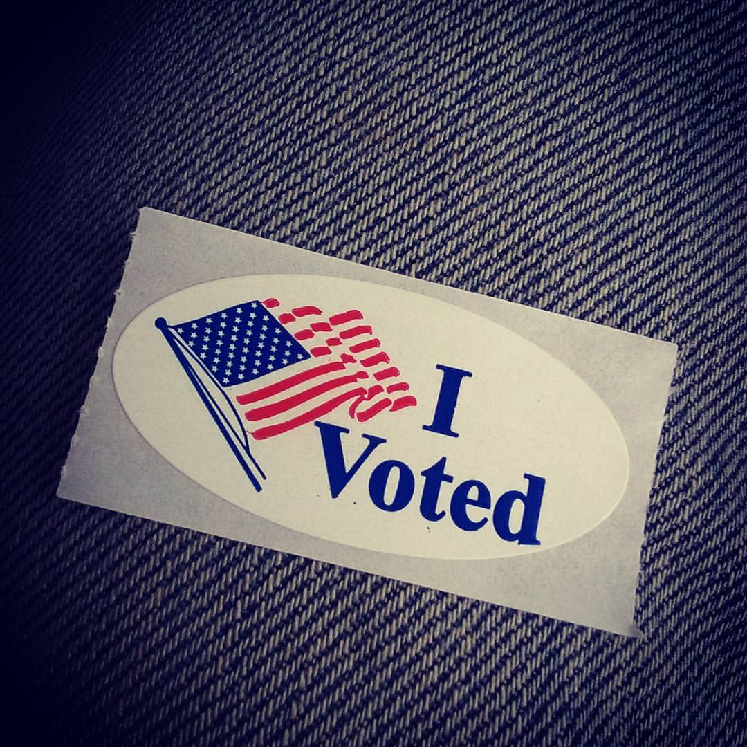 I Voted Trump - May 3rd 2015